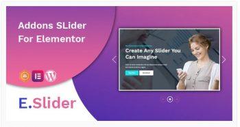 E.Slider - Add ons slider for Elementor