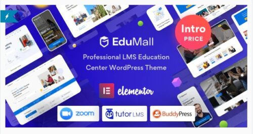 EduMall - Professional LMS Education Center WordPress Theme