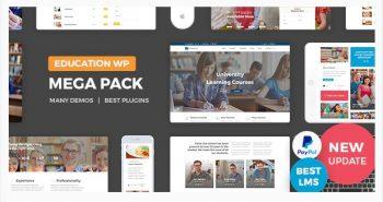Education Pack - Education Learning Theme WP