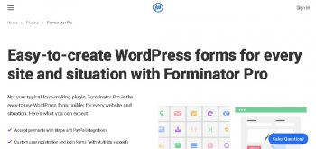 Forminator Pro - WordPress Plugin