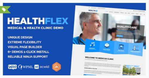 HEALTHFLEX - Medical Health WordPress Theme