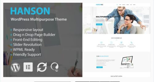 Hanson - Multipurpose WordPress Theme