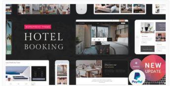 Hotel Booking - Hotel WordPress Theme