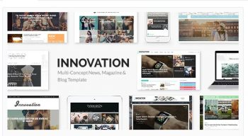 INNOVATION - Multi-Concept News, Magazine & Blog Template