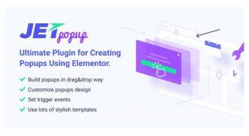 JetPopup - Popup Addon for Elementor