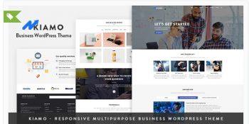 Kiamo - Responsive Business Service WordPress Theme