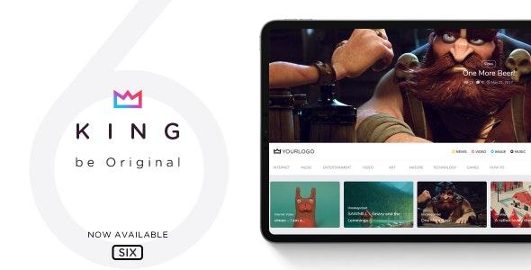 King WordPress Viral Magazine Theme download