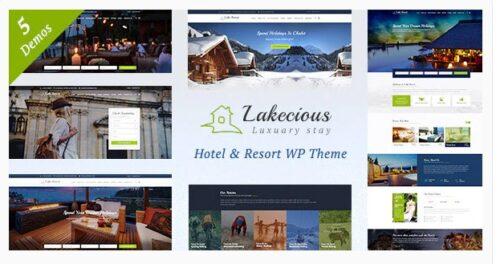 Lakecious v3.0 - Resort and Hotel WordPress Theme