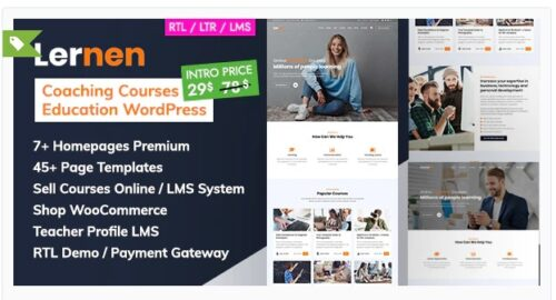 Lernen - Coaching Online Courses & Education WordPress