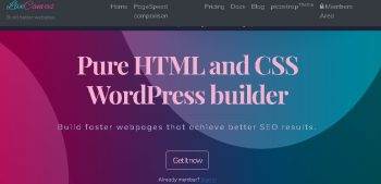 LiveCanvas - Pure HTML and CSS WordPress builder
