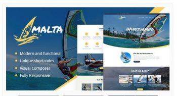 Malta - Windsurfing, Kitesurfing & Wakesurfing Center Theme