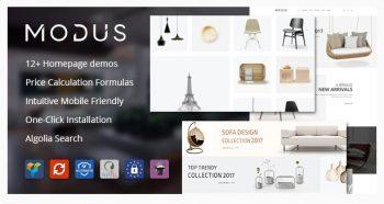 Modus - Modern Furniture WooCommerce Theme