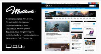 Multicote - Magazine and WooCommerce WordPress Theme