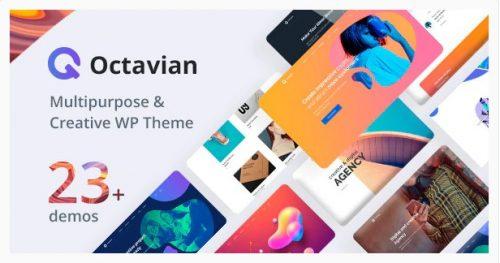 Octavian - Creative Multipurpose WordPress Theme