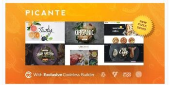 Picante - Restaurant WordPress