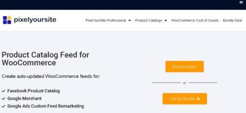 Product Catalog Feed Pro