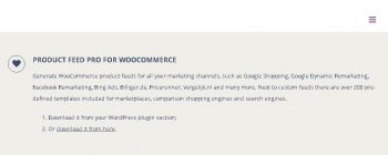 Product Feed PRO ELITE for WooCommerce