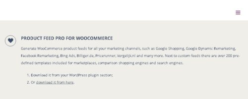 Product Feed PRO ELITE for WooCommerce