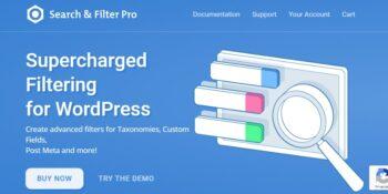 Search & Filter Pro - The Ultimate WordPress Filter Plugin