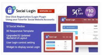 Social Login WordPress Plugin - AccessPress Social Login