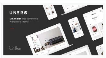 Unero - Minimalist AJAX WooCommerce WordPress Theme