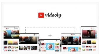 Videoly- Video WordPress Theme