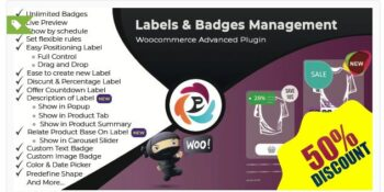 WooCommerce Advance Product Label and Badge Pro
