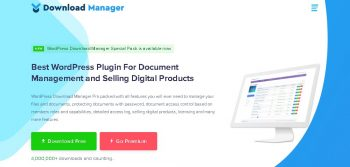 WordPress Download Manager Pro + Addons