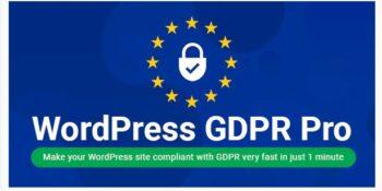 WordPress GDPR + CCPA + DPA Compliance