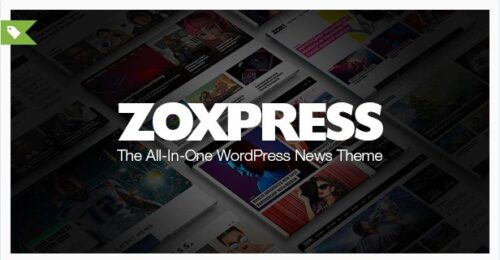 ZoxPress - All-In-One WordPress News Theme