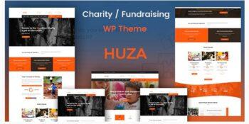 Huza - Charity/Fundraising Responsive Theme