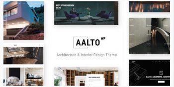 Aalto - Architecture and Interior Design Theme