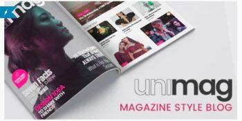 Anymag - Magazine Style WordPress Blog