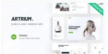 Artrium - Creative Agency & Web Studio Theme