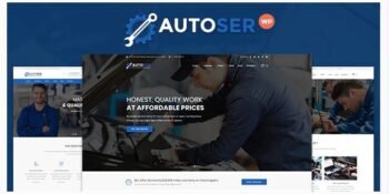 Autoser - Car Repair and Auto Service Theme