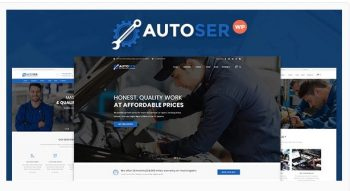 Autoser - Car Repair and Auto Service Theme