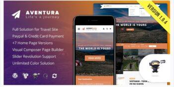 Aventura - Travel & Tour Booking System Theme