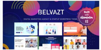 Belvazt - Digital Marketing Agency WordPress Theme