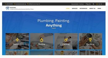 BlueCollar - Handyman & Renovation Business WordPress Theme