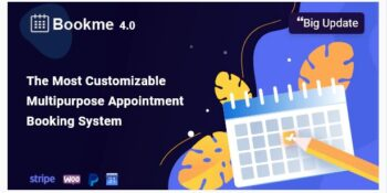 Bookme - WordPress Appointment Booking Scheduling Plugin