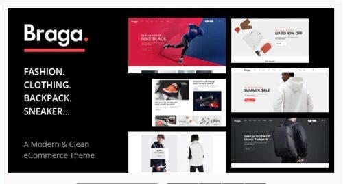 Braga - Fashion Theme for WooCommerce WordPress