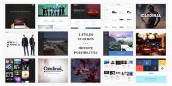 Cardinal - WordPress Theme