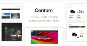 Centum - Themeforest Responsive WordPress Theme