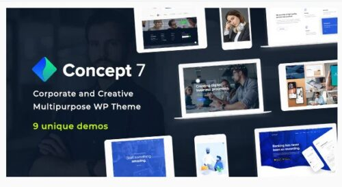 Concept Seven - Responsive Multipurpose Theme