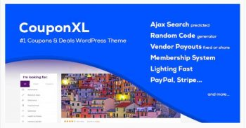 CouponXL - Coupons, Deals and Discounts WP Theme
