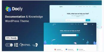 Docly Documentation And Knowledge Base WordPress Theme