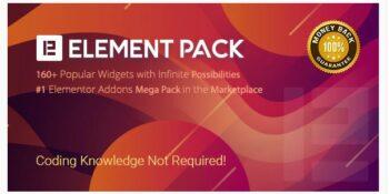 Element Pack - Addon for Elementor Page Builder