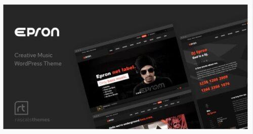 Epron - Music Theme for WordPress