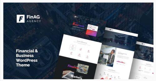 Finag - Creative & Finance Agency WordPress Theme
