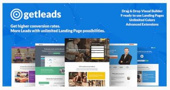 Getleads - High-Performance Landing Page Theme